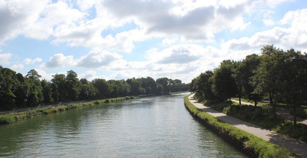 Wesel-Datteln-Kanal in Dorsten