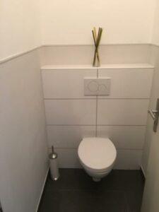 Extra WC in Ferienwohnung 1