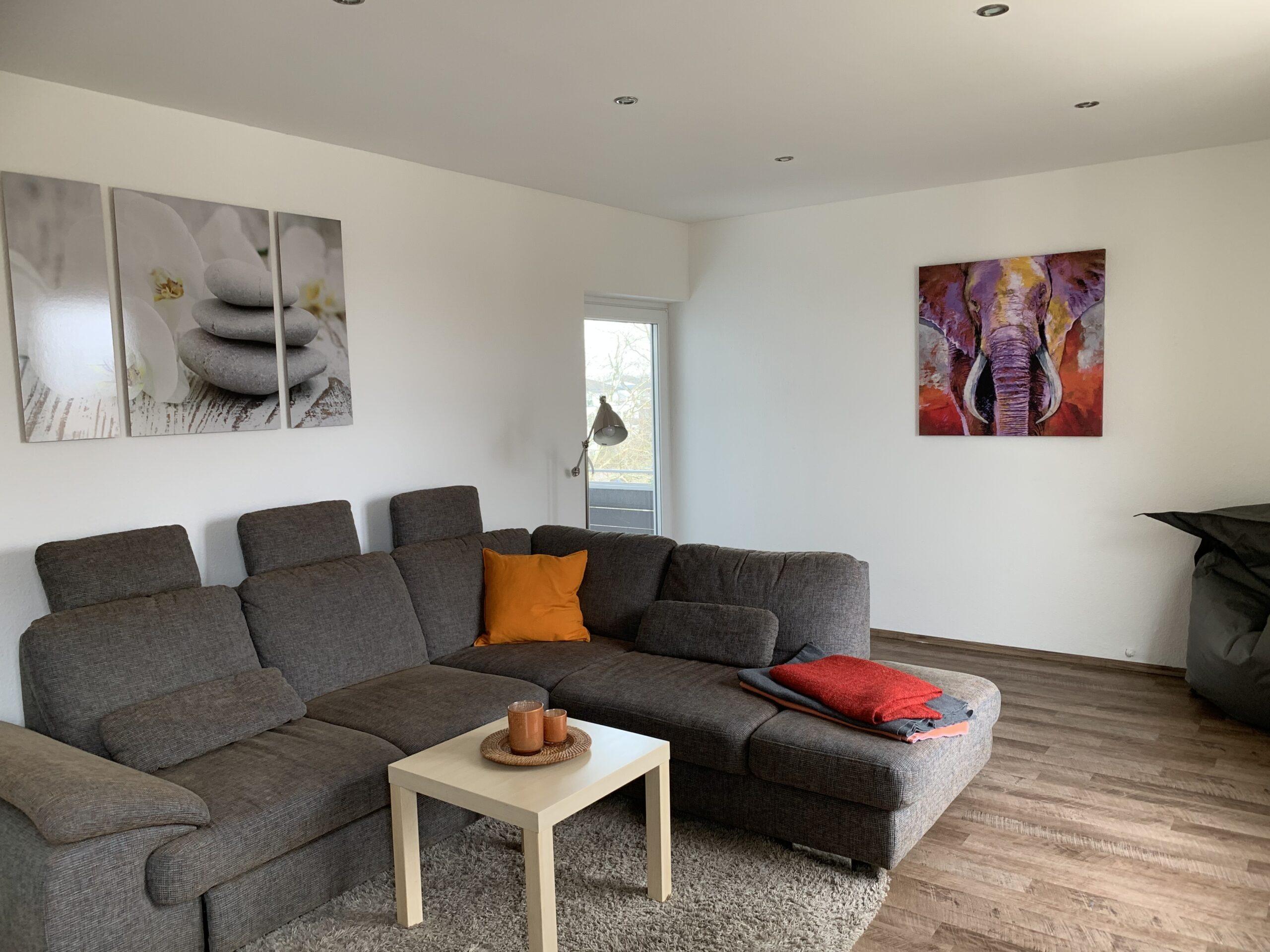 Wohnzimmer Ferienwohnung 3